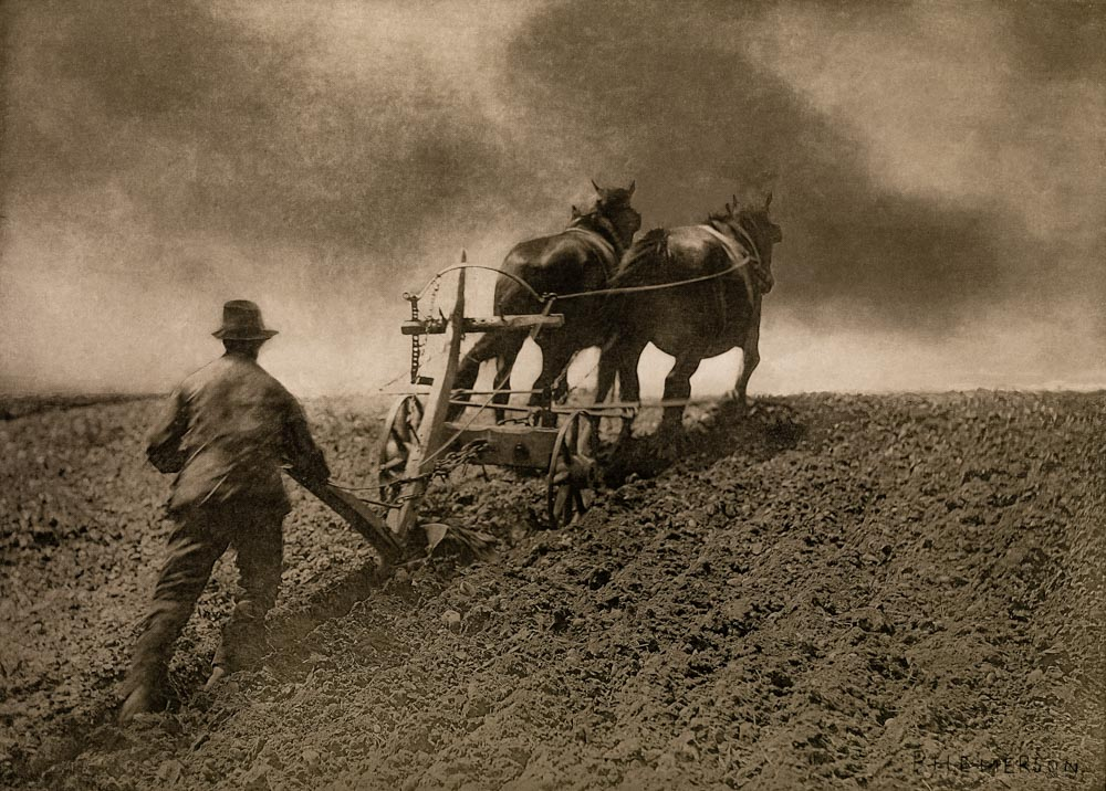 A Stiff Pull 1885 Peter Henry Emerson