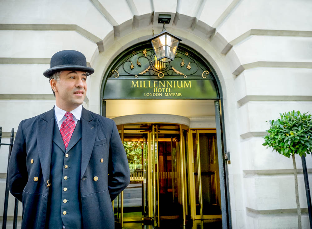 Hotel photographer London -The Millennium Mayfair
