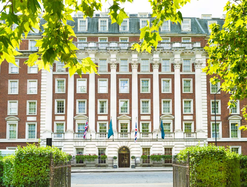 London hotel photographers: the Millennium Mayfair Hotel in Berkeley Square